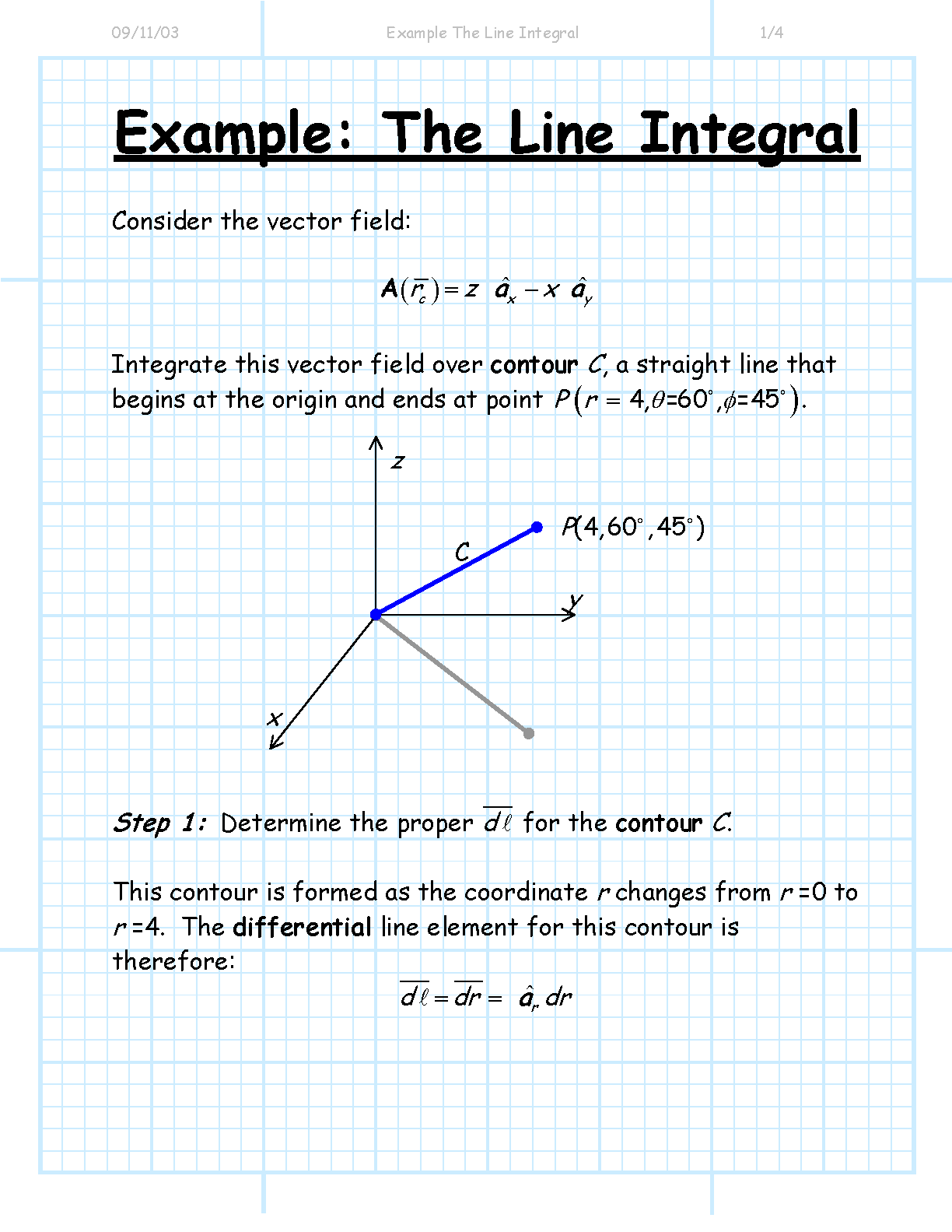 Solved: question from a line integrals vs surface integral.
