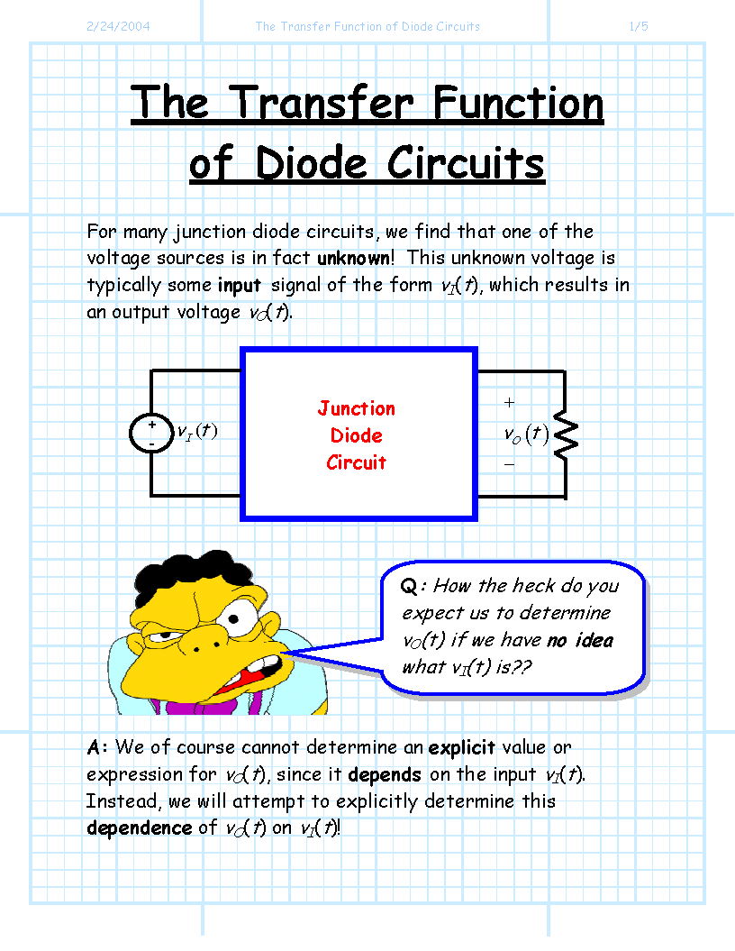 Index Of Jstiles 312 Images Diode Circuits The Transfer Functio
